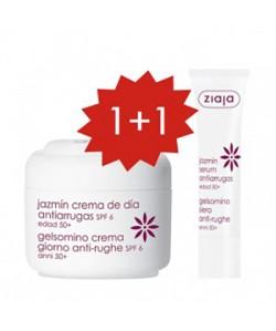 Set Jazmín Crema de día + Serum antiarrugas Gratis