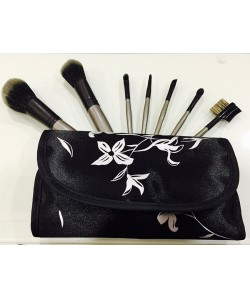 Set de 7 brochas de maquillaje Top Choice