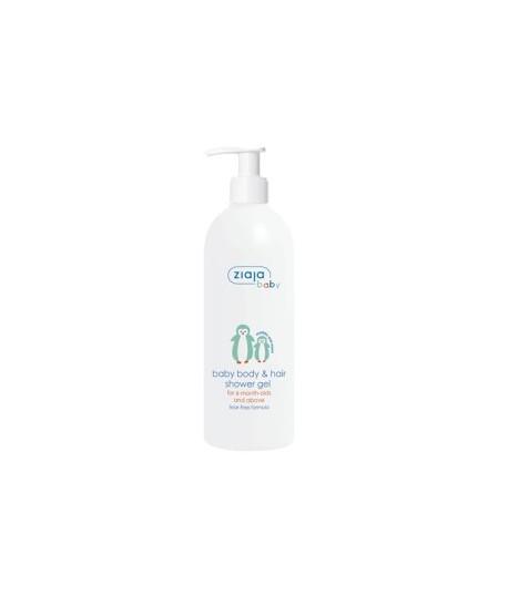 Gel de ducha para cuerpo y cabello para bebé +6 meses