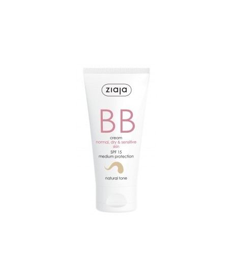 BB cream pieles normales, secas y sensibles SPF15 Tono Natural